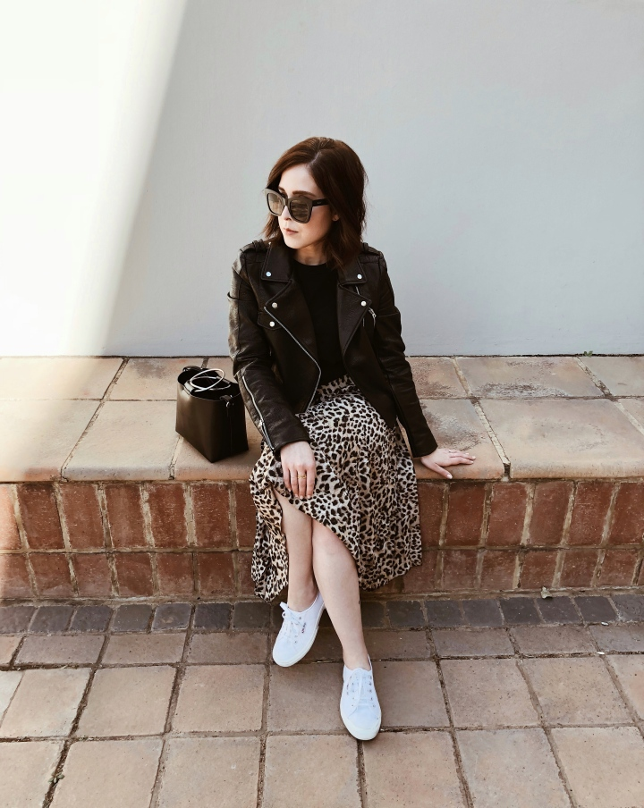 OUTFIT: THE LEOPARD PRINT SKIRT
